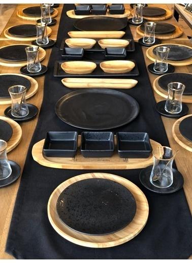 ROSSEV Kahvaltı Takımı Gecce 80 Parça 12 Kişilik Renkli